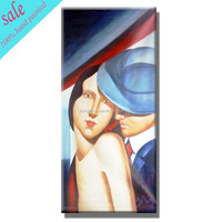 Hot sale hand painted nude painting