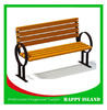2015 hot new design Chinese manufacturer factorhot new product garden bench wooden slats iron garden park benches old wood bench