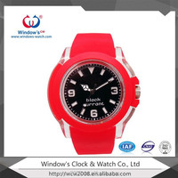 Beautiful red watches for large wrist women