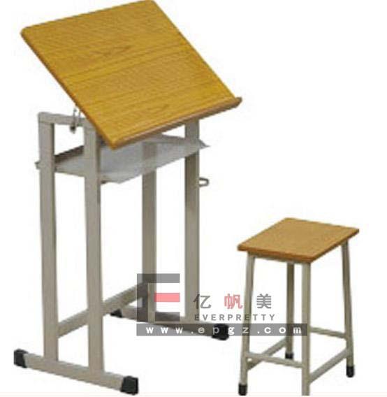 R glable en hauteur de table de dessin l 39 cole de dessin Table d appoint reglable en hauteur