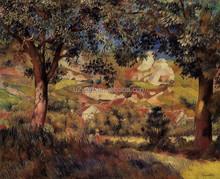 Famous painting framed landscape decoration art