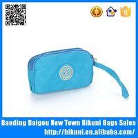 2015 Custom new indian small nylon women wallets coin purse bag