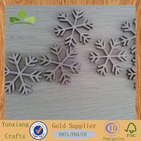 Wooden Christmas decorations snows