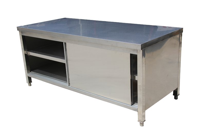 Stainless Steel Kitchen Cabinet Industrial Commercial Stainless Steel