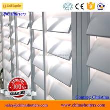 Home decor window shutters interior, timber louvers window