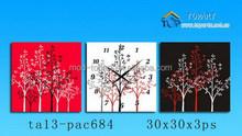 Canvas clock , many design available canvas art