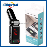 BC06 Bluetooth Enabled Car MP3 Detached Joint with OLED Screen Display