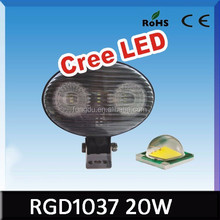 wholesale High quality LED light 2inch Flush mount LED work light 4wd off road light