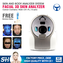 Factory wholesales Canon camera skin and hair analyzer with Medical CE