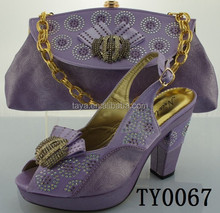 Party Shoes and Matching Bags Accessories lilac decoration