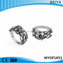 Wholesale 2015 stainles steel ring fashion 316 stainless steel jewelry celtic rings for men