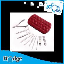 buon set manicure promozione strumento di cosmetici kit pedicure