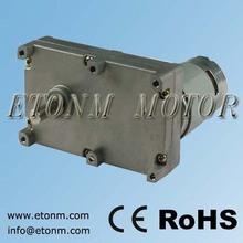 engranaje de reducción para el motor eléctrico para la máquina expendedora, el sistema de banco