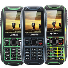 Uphone U3A IP67 Rugged Phone - Dust Proof, Waterproof, Shockproof, Dual SIM, Rear Camera, FM Radio(Black/Green/Camouflage)