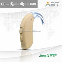 Hearing Assistance Earphone Behind the Ear with Optional Memories and Programs