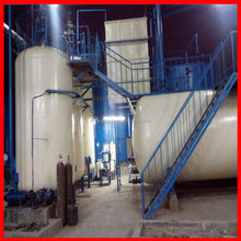 Green Energy hydraulic oil filter to recycle used mobil oil to SN base oil with CE