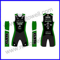 Runtowell 2013 anti-uv high quality triathlon and cycling wear