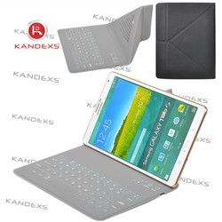 tablet pc leather case with keyboard and tablet touch bluetooth keyboard Protective sleeve