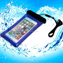 diving cell phone waterproof bag for samsung galaxy note 5