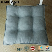 Linen Buttocks Support Chair Pads Square Office seat cushion