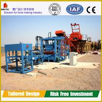 QFT4 kenya soil cement interlocking brick making machine