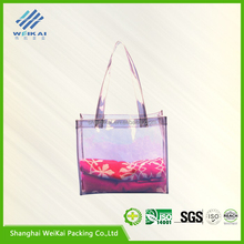 discount price fashion bag, PVC tote bag, high quality tote bag