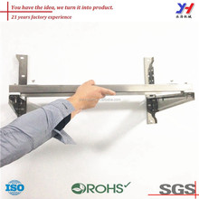 OEM ODM customized precision best selling angle iron air conditioner bracket/cheap angle iron corner bracket