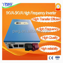 CE ISO 1~5KVA pure sine wave change DC to AC High Frequency home Inverter