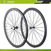 Hot OEM bike 38mm clincher carbon road wheelset