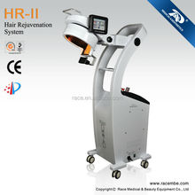 professional 650nm red hair growth laser, 808 nm IR laser machine HR-II