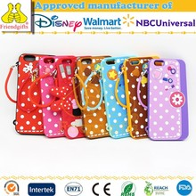NBCUniversal Audited Factory Colorful Mobile Phone Case Dots Pattern Mobile Phone Cover Fashion Cell Phone Case for iphone