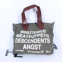 customized cotton canvas tote bag Recycle organic custom canvas tote bag