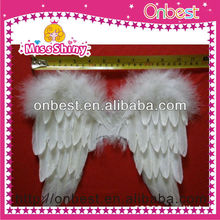 Small white feather angel wings wholesale for kids
