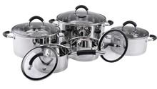 Sa-12020 ollas de acero inoxidable/de acero inoxidable para utensilios de cocina de inducción