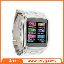 Ultra thin stainless steel factory high quality smartwatch 2, OEM/ODM welcome watch phone