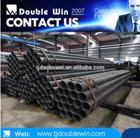 SCH40 black steel pipe, mild steel pipe building construction