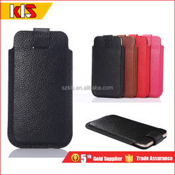 Genuine leather pouch for iPhone 6S case with card holder bag ,for iPhone 6s plus leather case