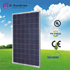 High quality 5w to 230w 12v or 24v solar panels factory direct