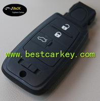 Topbest 3+1 buttons car wireless remote key 433mhz for fiat car remote key