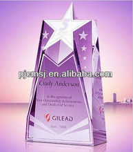 2015 Wholesales Top Five Star Diamond Achievement Awards For Company Success Gifts