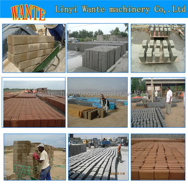 Wt1 20 presse brique terre crue usine de chine des machine des brique en terre crue machine de - Couper brique refractaire ...