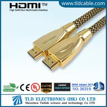 De alta calidad de resolución HDMI 2.0 Cable Soporte 3D 4K para HDTV
