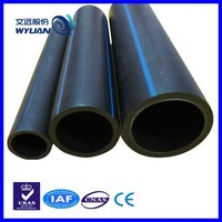 China plastic ISO 4427 PE 100 hdpe pipe 600mm