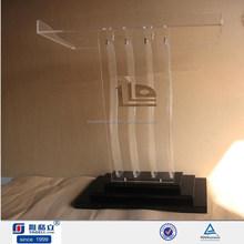 Acrylic Pulpit, Acrylic Rostrum, Acrylic Platform