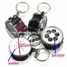 cheap digital voice recorder keychain, recording key chain, promotion voice recordable keychain