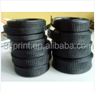 Hot sale promotional expandable black nylon braided sleeve