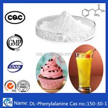 150-30-1 98.5%-101.5% White Powder Food Additives DL-Phenylalanine