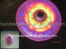 Led spinning top with 4 leds
