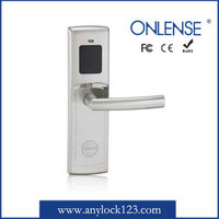 hot selling rf hotel card lock with free software