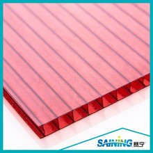 uv coated abrasive polycarbonate/ uv coated bulletproof polycarbonate/ uv coated triple-wall polycarbonate sheet
